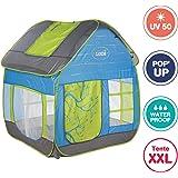 Ludi - Tente Cottage Pop-up pour Jouer dans Le Jardin 130 x 120 x 144 cm. Dès 2 Ans. Tissu résistant et Anti UV, Sol Isolant,