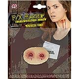 WIDMANN 4150V Spezial Effekt Set Vampir Biss Unisex– Erwachsene Rot One Size