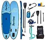 Aquaplanet ALLROUND Kit inicial completo para SUP . Incluye bomba de aire, pala de aluminio, mochila, correa para la...