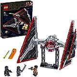 LEGO Star Wars Sith Tie Fighter Set di Costruzioni Ricco di Dettagli con 3 Minifigure: Pilota Tie del Primo Ordine, Cavaliere di Ren e Finn, per Ragazzi +9 Anni, 75272