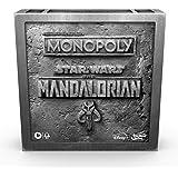 """Monopoly: Star Wars The Mandalorian Edition bordspel, bescherm het kind (""""Baby Yoda"""") tegen keizerlijke vijanden"""