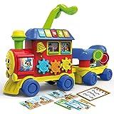 Lisciani Giochi- Carotina Baby Trenino 4 in 1, Multicolore, 76635