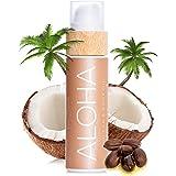 COCOSOLIS Aloha – Super Abbronzante con Vitamina E, Olio Corpo Abbronzante – Crema solare Bio Oil per un'Abbronzatura Cioccol