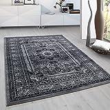 Fabelia Orient tapijt collectie Marrakesh - Oosterse Europese designs/klassiek en modern (120 x 170 cm, casablanca/grijs 0207