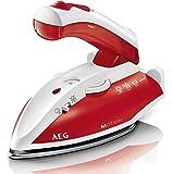 AEG DBT 800 Reise-Dampfbügeleisen Motion (Variabler und kontinuierlicher Dampf, Ergonomischer Klappgriff, inklusive Reisebeutel)