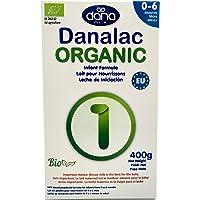 DANALAC Organic Latte in Polvere per Neonati 400 gr Fase 1 Latte Artificiale per Neonati e Lattanti 0-6 Mesi (Confezione…