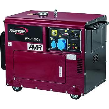 Einhell rt pg 5000 dd generatore di corrente diesel for Generatore di corrente lidl
