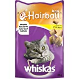 Whiskas Anti-Hairball Treats with Chicken - 55 gm