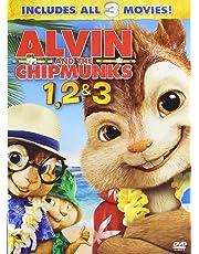 Alvin and the Chipmunks 1, 2 & 3: Alvin and the Chipmunks + The Squekquel + Chipwrecked (3-Disc Box Set)