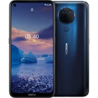 Nokia 5.4 Smartphone mit 6,39-Zoll-HD+-Display, 4 GB RAM, 128 GB Speicher, 48-MP-Vierfach-Kamera, Qualcomm Snapdragon…