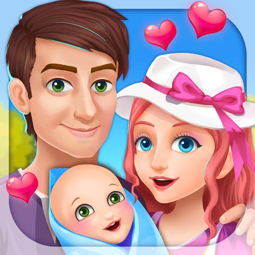 new-baby-story-girls-games