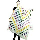 M S BANDHANI Women's Printed Cotton Dupatta