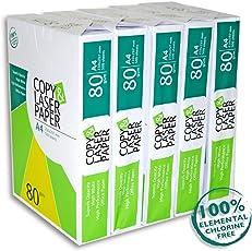 2500 Blatt Premium Druck- und Kopierpapier Copy & Laserpaper | DIN A4 80 g | Kopierpapier | Druckerpapier | Universalpapier