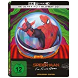 Spider-Man: Far From Home (Limited 3D UHD Steelbook) [4K Blu-ray]