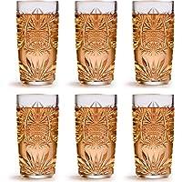 Verre long drink Atik de Libbey - 360 ml / 36 cl - 6 unités - design vintage - vont au lave-vaisselle - haute qualité