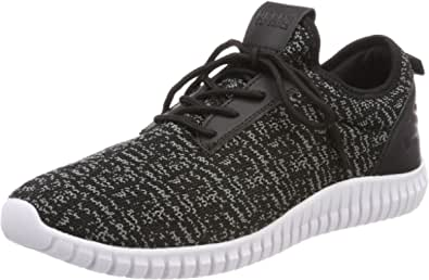 Urban Classics Knitted Light Runner Shoe, Sneaker Unisex – Adulto