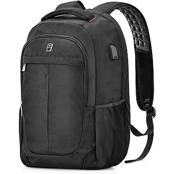 e83a1039e3 NORSENS Lightweight Laptop Backpacks 15.6inch Slim Business Backpack ...