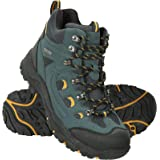 Mountain Warehouse Adventurer Mens Boots - Waterproof Rain Boots, Synthetic & Textile Walking Shoes, Added Grip Mens All Seas