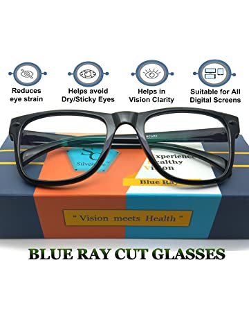 36fb5b073e1b SILVERCARE Blue Ray Cut UV420 and Anti-reflection unisex Wayfarer Computer  Protection spectacle