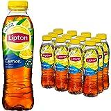 Lipton Lemon Ice Tea een heerlijk verfrissende ijsthee - 12 flessen - 500 ml - Voordeelverpakking