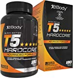 T5 Hardcore for Men & Women which Contains L-Tyrosine, Chromium, Vitamin B6 & Botanical Extracts, Mens Health Reviewed…