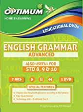 Optimum Educators English Grammar Advance Std 8,9 & 10 Educational DVDs