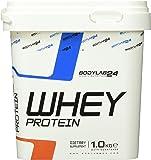 Bodylab24 Whey Protein Eiweißpulver, Geschmack: Vanille, hochwertiges Proteinpulver, Low Carb Eiweiß-Shake für Muskelaufbau und Fitness, 1000g