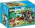 Playmobil - 5561 - Explorateur et famille de lynx