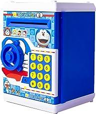 Toyvala Mini Electric Secret Password Safe ATM Piggy Bank (Multicolour)