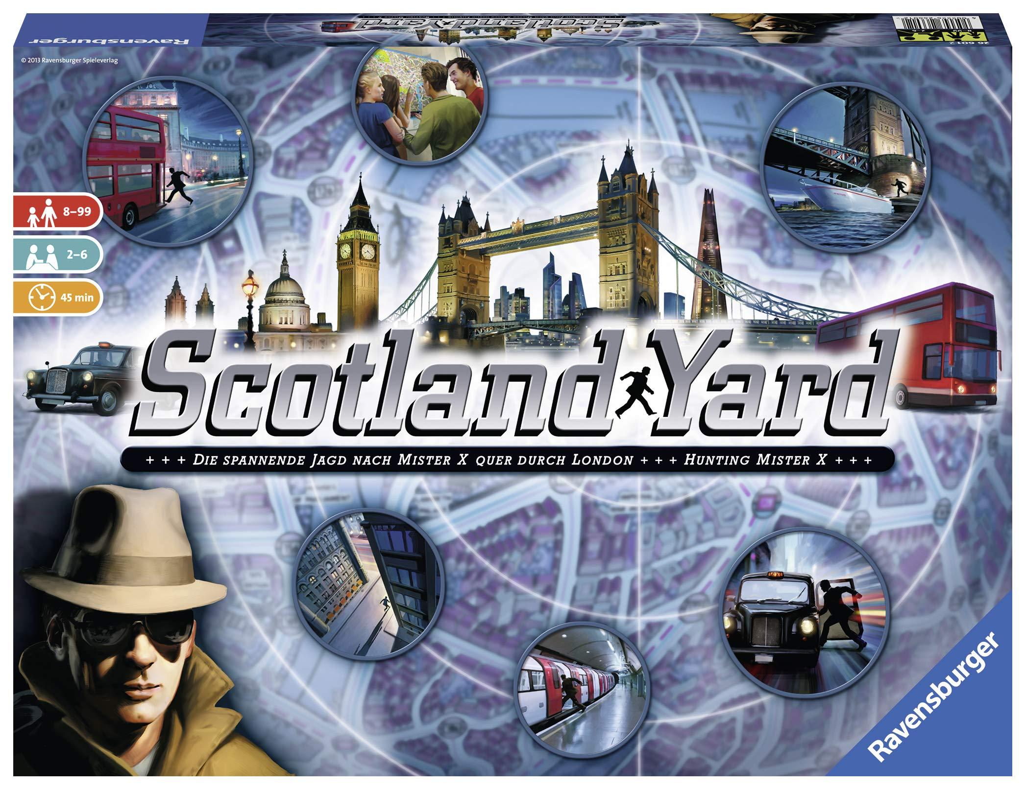 Scotland Yard Strategiespiel von Ravensburger - 26601 / Das spannende Detektiv-Kultspiel für die ganze Familie