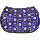 Les bijoux de porcelaine C001, Damen Clutch Violett violett Einheitsgröße