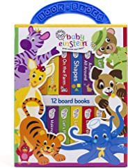 Baby Einstein - My First Library Board Book Block 12-Book Set - PI Kids