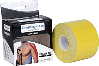 Visiono Waterproof Kinesiology Tape Therapeutic and Sports Tape 5 * 5 cm by Visiono