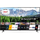LG 49SM8500PLA 49 Inch UHD 4K HDR Smart NanoCell LED TV with Freeview Play - Black (2019 Model) with Alexa built-in