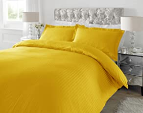 Ahmedabad Cotton 220 TC Striped Bedding Range