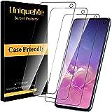 UniqueMe [3 pièces] Protection écran pour Samsung Galaxy S10e,[Dureté 9H] [sans Bulle] Ultra Résistant Vitre Film Verre Trempé pour Samsung Galaxy S10e