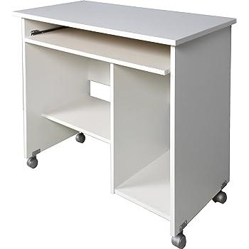 Parisot Computertisch Schreibtisch Peps 1 Weiß Amazonde Küche