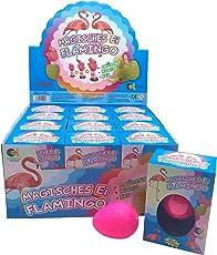JustRean Toys Magisches Flamingo Schlüpf Ei - Magic Growing Egg   Flamingo-Schlüpf-Ei   Wasser-Tier