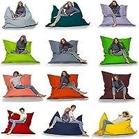 HomeIdeal - Sitzsack 2-in-1 Funktionen Riesensitzsack für Erwachsene & Kinder - Gaming & Entspannen - Indoor & Outdoor…