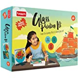Funskool - Handycrafts Glass Painting, Arts and Craft for Creative Painting , 6 Years Above Girls and Boys