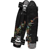 Gonex Skateboard per Bambino Bambina 22 Pollici Skate Penny Board per Ragazzo Ragazza Adulti Principianti Professionisti…