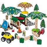 Fisher-Price Wonder Makers Camping, juguetes construcción niños + 3 años (Mattel GFJ10)