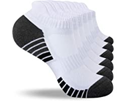 Hacerse Trainer Socks, Breathable Running Socks Cotton Ankle Socks Low Cut Sports Socks for Men and Women (6 Pairs/ 10 Pairs)
