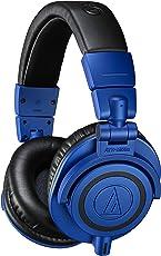 Audio Technica ATH-M50xBB Professional Monitor Headphones (Blue)