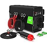 Green Cell® 300W/600W 24V 220V/230V Convertisseur de Tension Camion Solaire Modifiée Volts Sinus Power Inverter sinusoïdale D