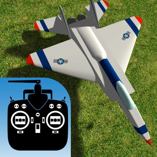 RC-AirSim - RC Model Airplane Flight Sim (Jet Radio)