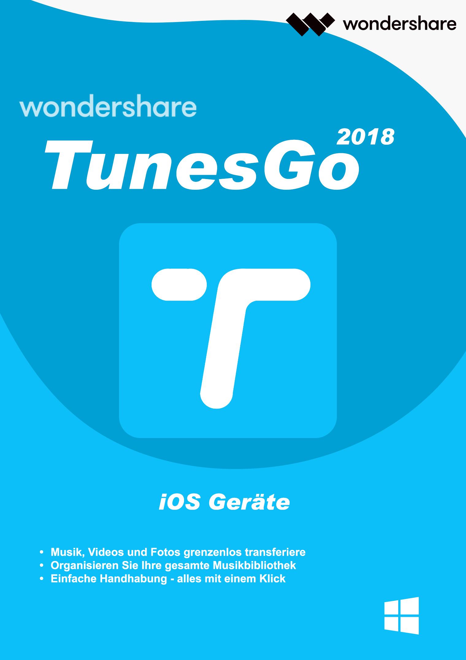 Wondershare TunesGo - iOS Geräte für PC - 2018 [Download]