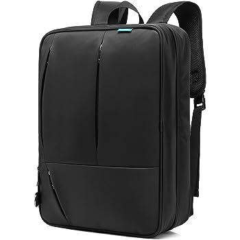 CoolBELL Convertible Messenger Bag Backpack Shoulder bag Laptop Case Handbag  Business Briefcase Multi-functional Travel Rucksack Fits 17.3 Inch Laptop  For ... 9dbf0ecf81