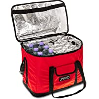 LIVIVO Extra Large 30 Litre Insulated Cool Bag, Collapsible Drink or Food Storage for Picnic, Camping, Festivals and Outdoor, or for Home