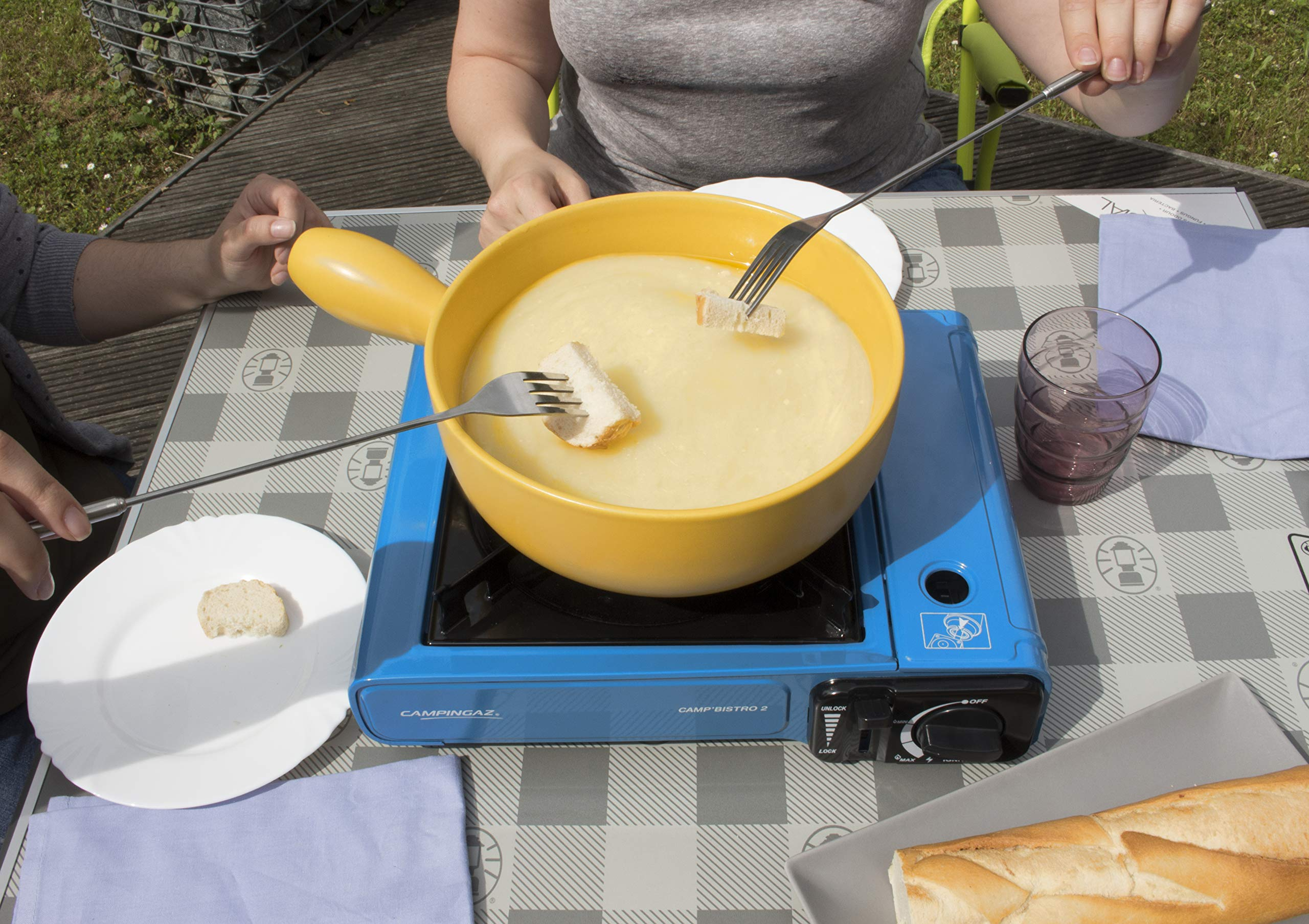 Campingaz Camp Bistro 2, Camping Stove, Portable Gas Cooker for Camping or Festivals, Easy Handling 5